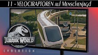 Jurassic World Evolution deutsch 🦖 #11 VELOCIRAPTOREN auf Menschenjagd | Gameplay deutsch german
