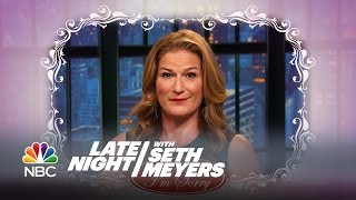 Ana Gasteyer Apologizes to Martha Stewart - Late Night with Seth Meyers