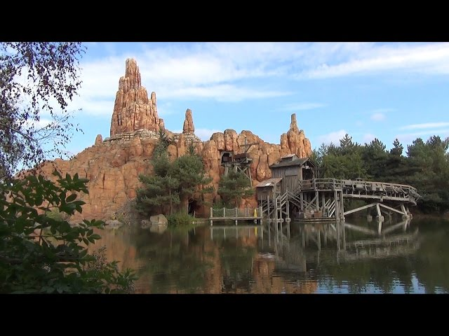 Big Thunder Mountain Railroad at Disneyland Paris Full POV Ride Experience 1080p HD Frontierland
