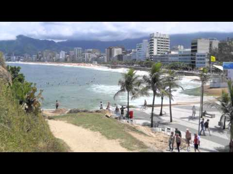My Brazil Vacation, Ipanema Beach, Rio de Janerio, Video 1