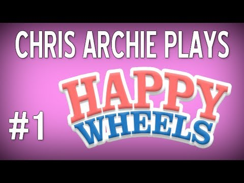 Chris Archie Plays Happy Wheels - Ep. 1