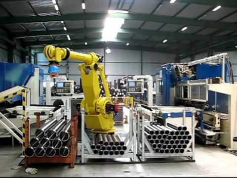 Fanuc Robot Factory Automation Cell By Bardons Amp Oliver