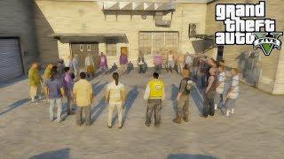 GTA 5 MOD VITA DA GANGSTER: RIUNIONE CON TUTTI I BOSS DI LOS SANTOS