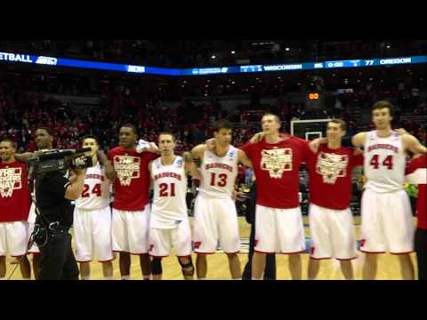 Wisconsin Men's Basketball: The Bradley Center sings Varsity