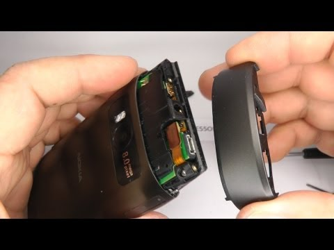 Nokia X7 Disassembly & Assembly - Battery, Screen & Case Replacement