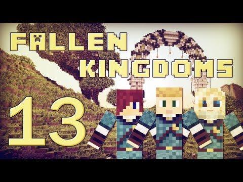 Fallen Kingdoms : Siphano, Leozangdar, Husky | Jour 13 - Minecraft