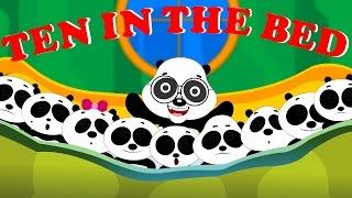 Ten In The Bed | Nursery Rhymes For Kids |  videos for toddlers by Kids Tv Nursery Rhymes