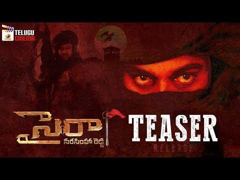 Sye Raa Narasimha Reddy Movie TEASER Release | Chiranjeevi | Nayanthara | Ram Charan | Telugu Cinema
