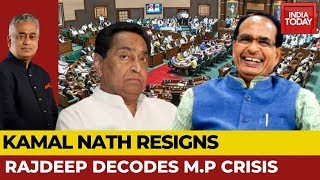 Kamal Nath Resigns, Congress Falls & BJP Rejoices; Drama Ends? | Rajdeep Decodes M.P Crisis