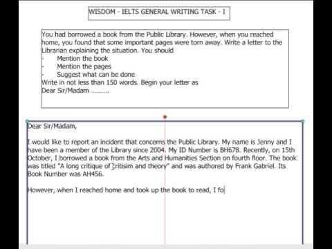 Writing an admission essay 1 ielts