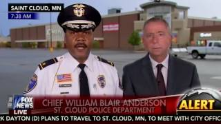 St. Cloud, Minnesota Police Chief reminds Fox News of true American values