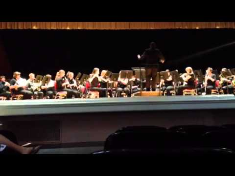 Second suite in F, I march EKU Concert band