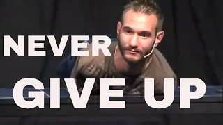 Nick Vujicic SPEECH - MOTIVATIONAL VIDEO - | Never give up| Nick's life without limbs - AmlekoTube.c