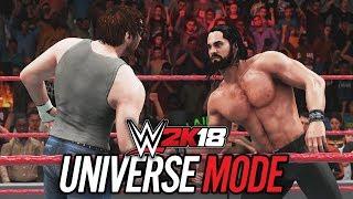 WWE 2K18 UNIVERSE MODE (In-Depth Breakdown & NEW MATCH GAMEPLAY!!)