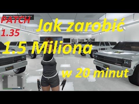 Poradnik| Jak Zarabiać| GTA 5 ONLINE GLITCH GTA 5 1,5 Miliona W 20 Minut XBOX,PC,PS4