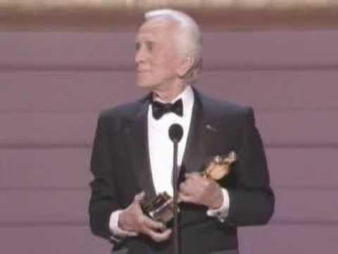 Kirk Douglas receiving an Honorary Oscar®