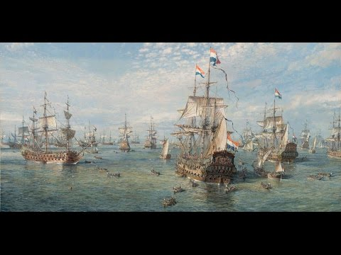 Dutch Naval History, and Netherlands 16th century Maps. Video