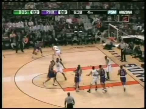 Shawn Marion 44 pts,15 reb, season 2006 suns vs celtics