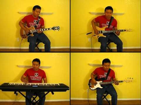 Tobe! Grendizer - Ufo ロボ·グレンダイザー Goldrake Opening Theme Cover By Red Villanueva video