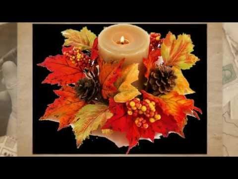 Композиции из осенних цветов и листьев своими руками