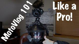 Best-How to MotoVlog-Cameras, Microphones, Helmets, Setup-GoPro | Get Started
