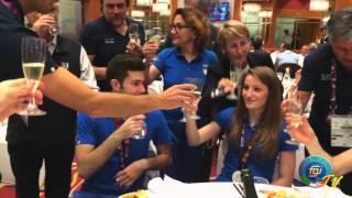 Baku 2015 - Una Coppia bella da morire!