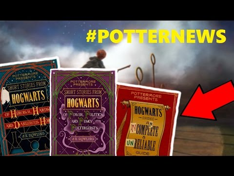 3 NEUE HARRY POTTER BÜCHER !! #POTTERNEWS
