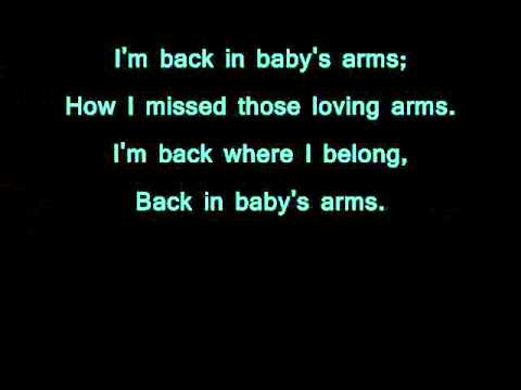 Back in Your Arms Again Lyrics