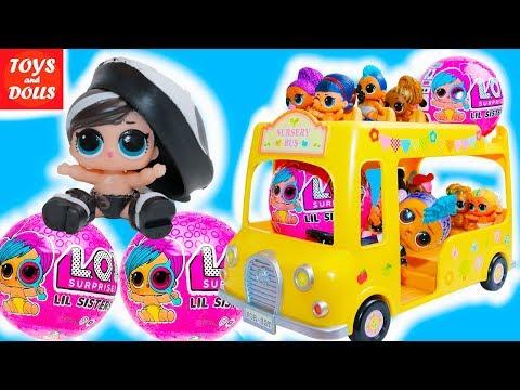 МАЛЬЧИК И ДЕВОЧКИ ЛОЛ ЕДУТ В ДЕТСКИЙ САД! МУЛЬТИК! РАСПАКОВКА LOL Surprise Baby Dolls Eye Spy Wave 2