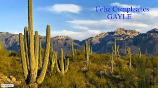 Gayle  Nature & Naturaleza - Happy Birthday