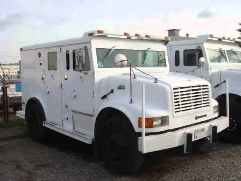 USED ARMORED TRUCK - WWW.ARMOREDCARSSALE.COM