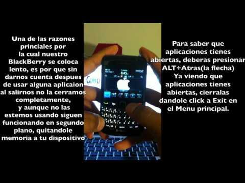 Como hacer tu BlackBerry mas rapido