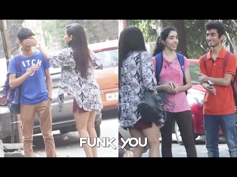 Girl Giving Free Kisses - Prank by Funk You