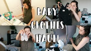 Baby Boy Clothing Haul + Baby Laundry Products