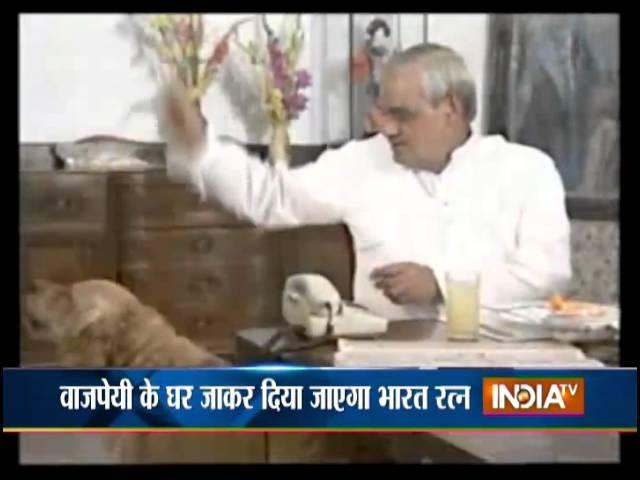 President to confer Bharat Ratna on former PM Atal Bihari Vajpayee at his residence on March 27