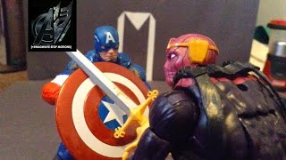 Captain America Stop Motion- Captain America vs Baron Zemo