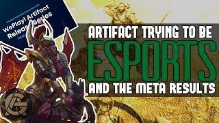 Artifact's success as an esport and its Meta