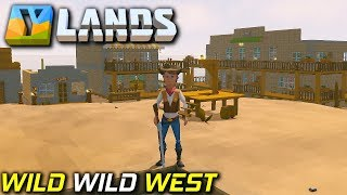 Wild Wild West, Horses and More | YLands | Crafting and Building Gameplay EP3