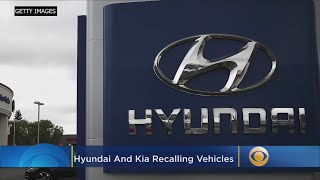 Hyundai, Kia Recall 168K Vehicles Due To Increased Fire Risk