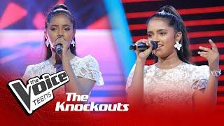 Kavindya Lakmuthu | Mal Sara Hee Sarin Knockouts | The Voice Teens Sri Lanka