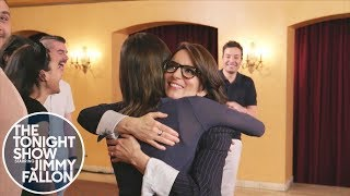 Tina Fey Surprises Fans While They Thank Her