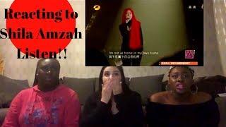 Download Lagu Shila Amzah - Listen REACTION Gratis STAFABAND