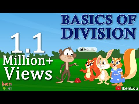 Divison Made Easy | Math Video To Learn Division Basics