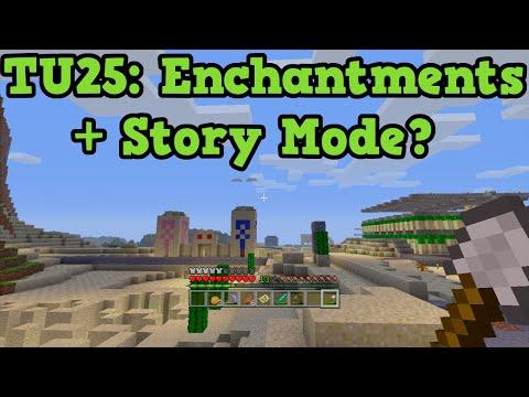 Minecraft Xbox One + PS4: TU25 QnA New Enchantments Story Mode