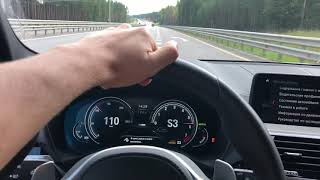 BMW X3 G01 30i 0-200 Acceleration (разгон)