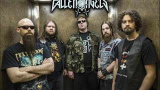 "Fallen Angels ""Nightmare"" Lyric Video - Thrash metal"