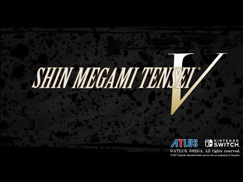 Shin Megami Tensei V Announcement Trailer (PEGI)