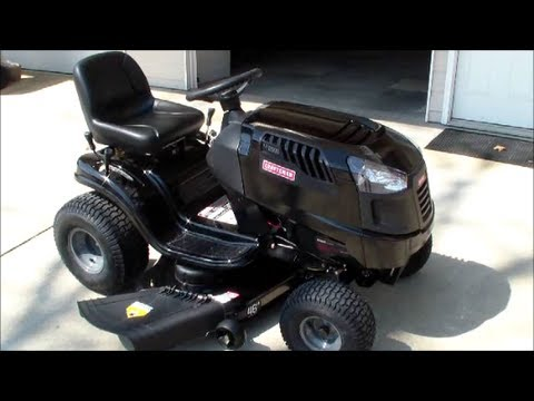 Brand New Craftsman Riding Mower Review and Test Drive