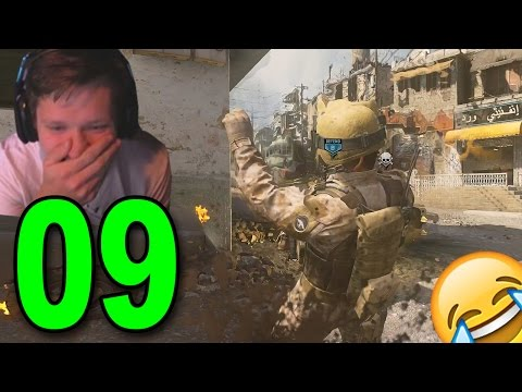 Modern Warfare Remastered GameBattles - Part 9 - FAIL Grenade