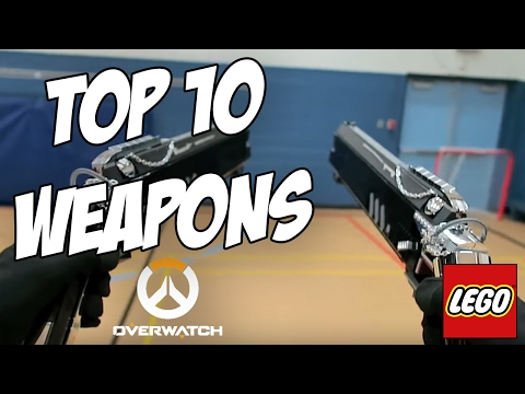Top 10 Custom LEGO Overwatch Weapons   Top 10 LEGO